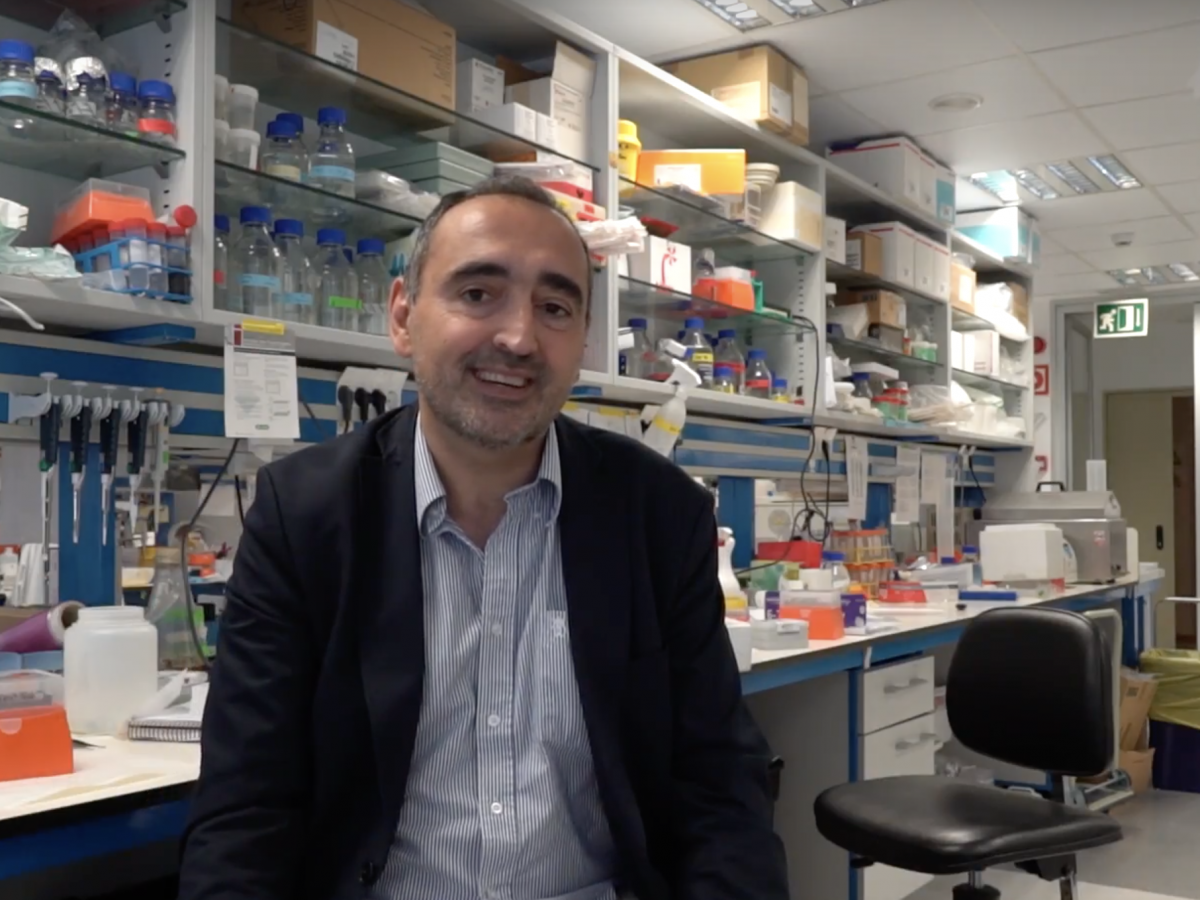 Our Scientific Director presents the Oncobell Symposium'18