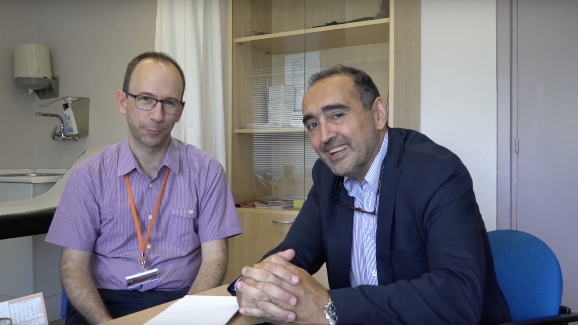 Ernest Nadal, group leader of Clinical Research in Solid Tumors Group, talks about his research in Oncobell