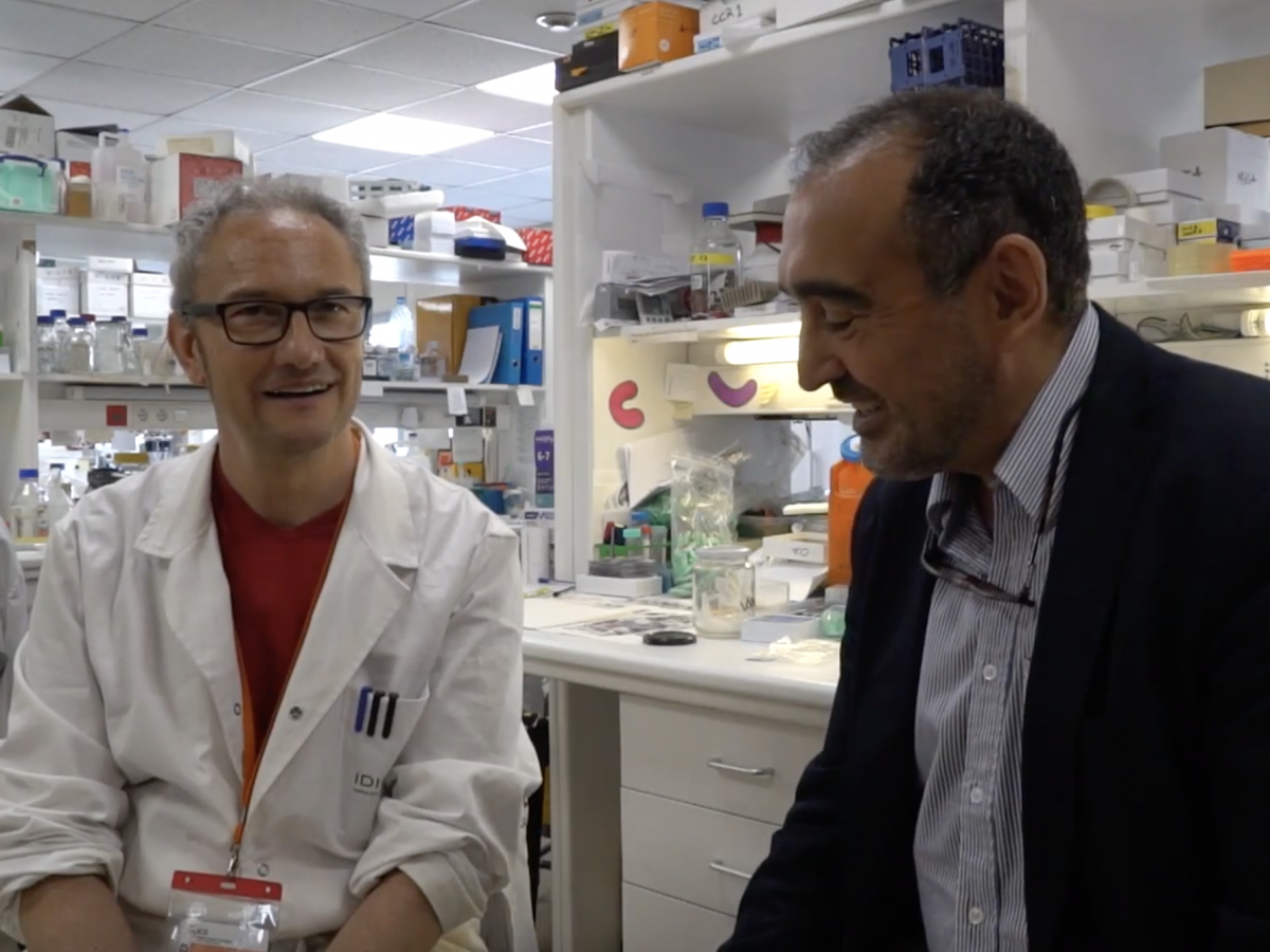 Francesc Viñals, group leader of Molecular Signaling in Cancer Group, talks about his cancer research