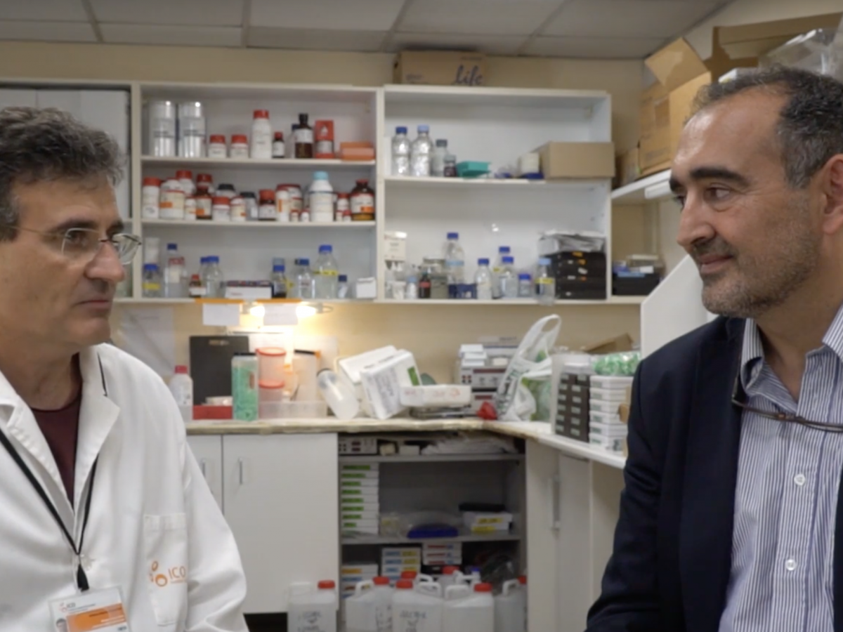 Ramon Alemany, group leader of Cancer Virotherapy Group, talks about his research and lecture